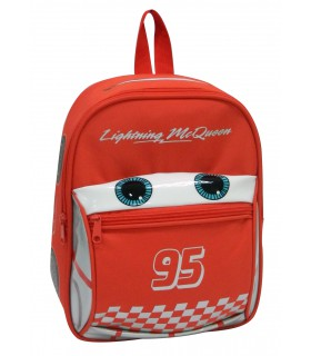 Sac A Dos Gouter Maternelle Cartable Cars Macqueen Rouge Disney