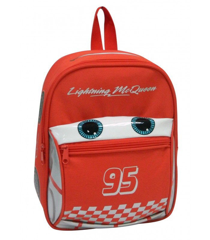 Sac à dos goûter Maternelle Cars McQueen Rouge