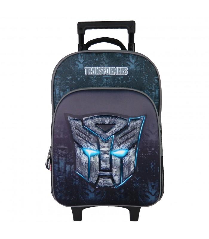 Sac à dos à roulettes Transformers Noir