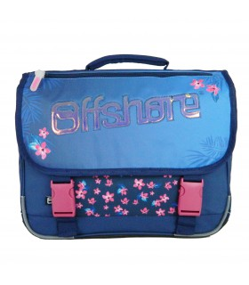 Cartable Offshore 38cm Bleu