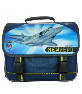 Cartable 38cm New Hero Bleu Marine