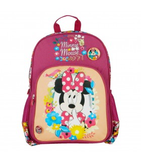 Sac à dos 1 compartiment Disney Minnie Bordeaux