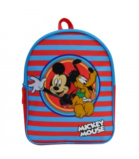 SAC A DOS GOUTER MATERNELLE 31 CM ROUGE-MICKEY