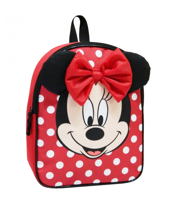 SAC A DOS GOUTER MATERNELLE 31 CM ROUGE-MINNIE