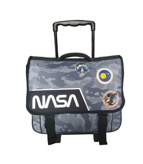 CARTABLE 41 CM NOIR-NASA
